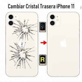 Cambiar Cristal Trasera iPhone 11
