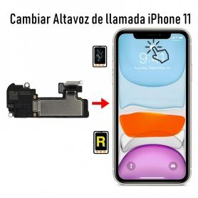Cambiar Altavoz de Llamada iPhone 11