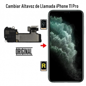 Cambiar Altavoz de Llamada iPhone 11 Pro