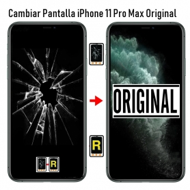Cambiar Pantalla iPhone 11 Pro Max Original