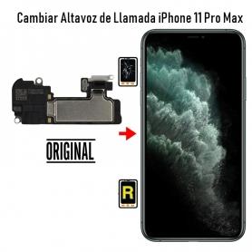Cambiar Altavoz de Llamada iPhone 11 Pro Max