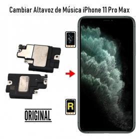 Cambiar Altavoz de Música iPhone 11 Pro Max