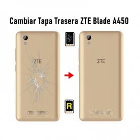 Cambiar Tapa Trasera ZTE Blade A450