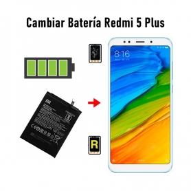 Cambiar Batería Redmi 5 Plus