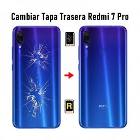 Cambiar Tapa Trasera Redmi 7 Pro