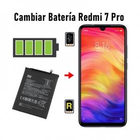 Cambiar Batería Redmi 7 Pro