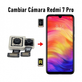Cambiar Cámara Trasera Redmi 7 Pro