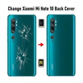 Cambiar Tapa Trasera Xiaomi Mi Note 10