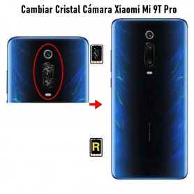 Cambiar Cristal Cámara Trasera Xiaomi Mi 9T Pro