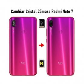 Cambiar Cristal Cámara Trasera Redmi Note 7