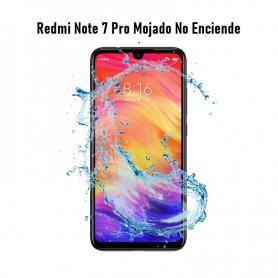 Reparar Redmi Note 7 Pro Mojado No Enciende
