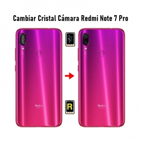 Cambiar Cristal Cámara Trasera Redmi Note 7 Pro