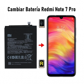Cambiar Batería Redmi Note 7 Pro