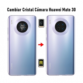 Cambiar Cristal Cámara Trasera Huawei Mate 30