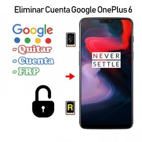 Eliminar Cuenta Google Oneplus 6