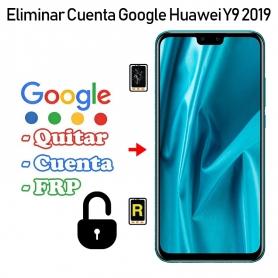 Eliminar Cuenta Google Huawei Y9 2019