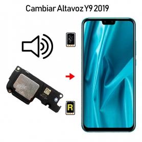 Cambiar Altavoz De Música Huawei Y9 2019
