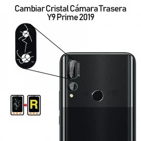 Cambiar Cristal Cámara Trasera Huawei Y9 Prime 2019