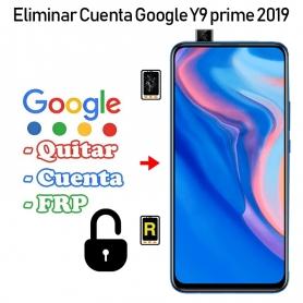 Eliminar Cuenta Google Huawei Y9 Prime 2019