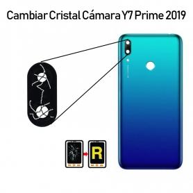 Cambiar Cristal Cámara Trasera Huawei Y7 Prime 2019