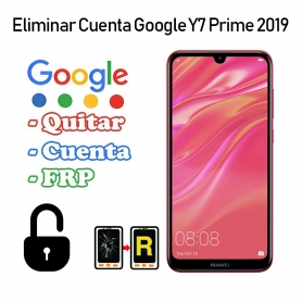 Eliminar Cuenta Google Huawei Y7 Prime 2019
