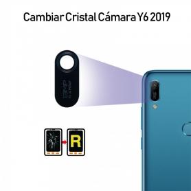 Cambiar Cristal Cámara Trasera Huawei Y6 2019