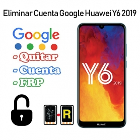 Eliminar Cuenta Google Huawei Y6 2019