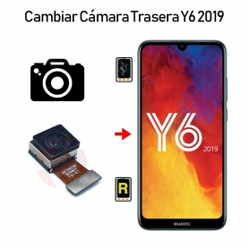Cambiar Cámara Trasera Huawei Y6 2019