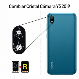 Cambiar Cristal Cámara Trasera Huawei Y5 2019