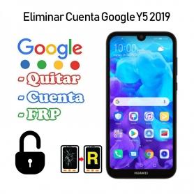 Eliminar Cuenta Google Huawei Y5 2019