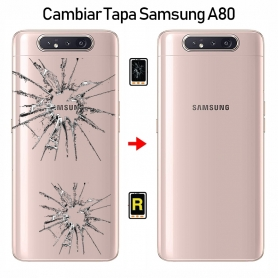Cambiar Tapa Trasera Samsung Galaxy A80