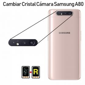 Cambiar Cristal Cámara Trasera Samsung Galaxy A80