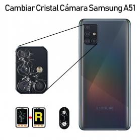 Cambiar Cristal Cámara Trasera Samsung Galaxy A51