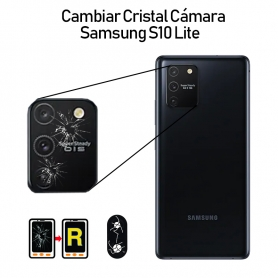 Cambiar Cristal Cámara Trasera Samsung Galaxy S10 Lite