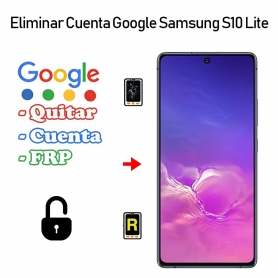 Eliminar Cuenta Google Samsung Galaxy S10 Lite