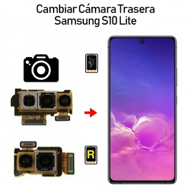 Cambiar Cámara Trasera Samsung Galaxy S10 Lite