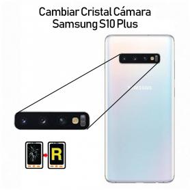 Cambiar Cristal Cámara Trasera Samsung galaxy S10 Plus