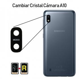 Cambiar Cristal Cámara Trasera Samsung galaxy A10