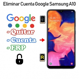 Eliminar Cuenta Google Samsung galaxy A10