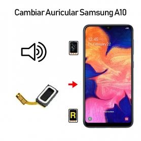 Cambiar Auricular De Llamada Samsung galaxy A10