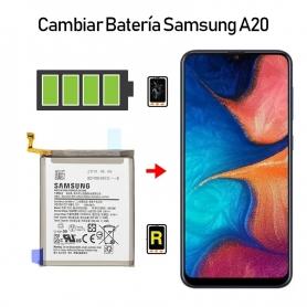 Cambiar Batería Samsung Galaxy A20