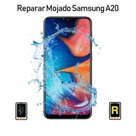 Reparar Mojado Samsung Galaxy A20