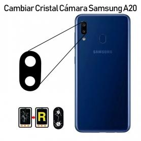 Cambiar Cristal Cámara Trasera Samsung Galaxy A20