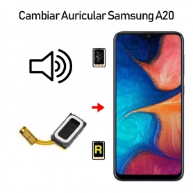Cambiar Auricular De Llamada Samsung Galaxy A20