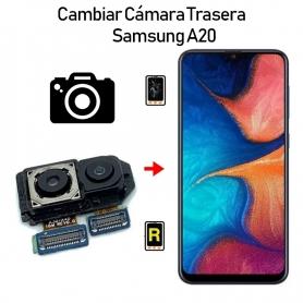 Cambiar Cámara Trasera Samsung Galaxy A20