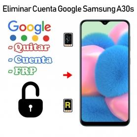 Eliminar Cuenta Google Samsung Galaxy A30S