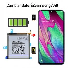 Cambiar Batería Samsung Galaxy A40