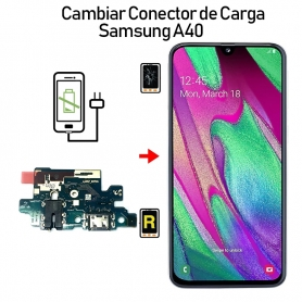 Cambiar Conector De Carga Samsung Galaxy A40