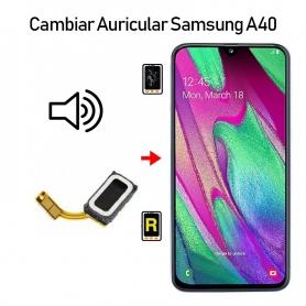 Cambiar Auricular De Llamada Samsung Galaxy A40