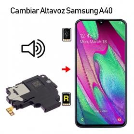 Cambiar Altavoz De Música Samsung Galaxy A40